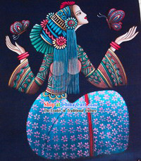 Batik Hanging-Chinese Beauty 4