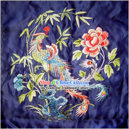 Chinese Classic Hand Made Embroidery Flake-Phoenix