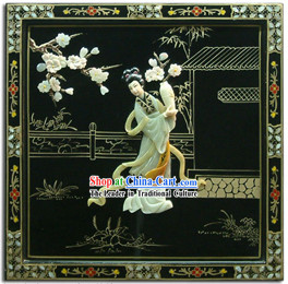 Chinese Palace Hanging Lacquer Ware Mirror Series-Fairy Chang E