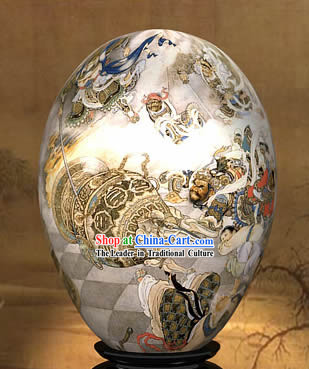 Chinese Wonders Hand Painted Colorful Egg-Heaven Play of West Journey