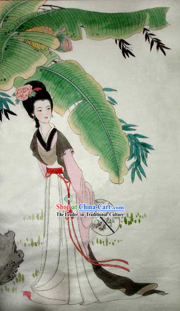 Chinese Traditional Painting-Ancient Palace Princess Ji Xiang