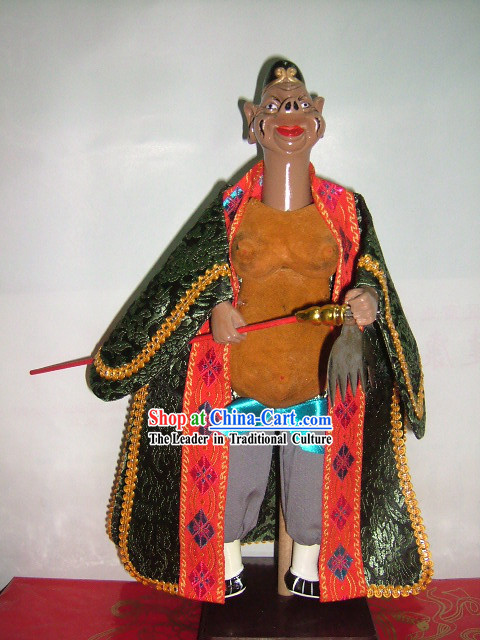 Chinese Classic Hand Puppet-Zhu Ba Jie of West Journey