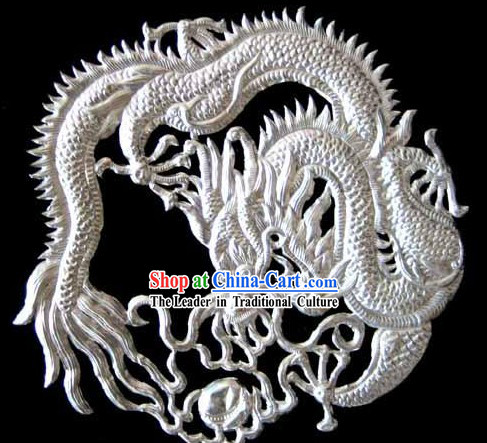 Chinese Stunning Silver Handicraft-Dragon
