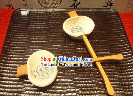 Chinese Hand Made Wooden Filter