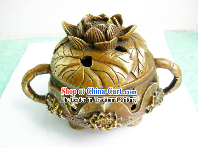 Chinese Traditional Lotus Censer
