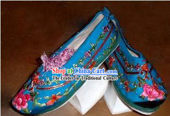 Chinese Hand Embroidered Empress Shoes