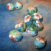 50 Pieces Chinese Classic Cloisonne Beads