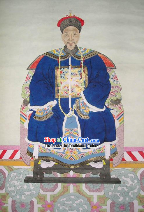 Chinese Ancient Painting-China Emperor