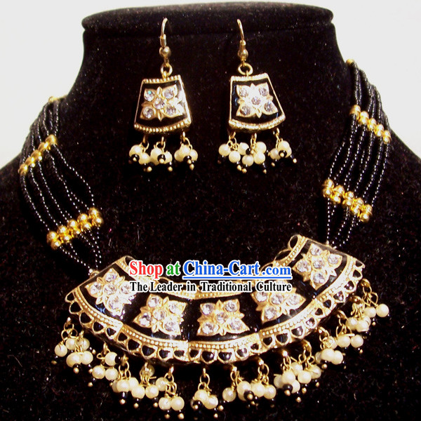Indian Fashion Jewelry Suit-Golden Prince of the Blood
