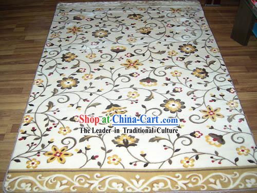 Art Decoration Chinese Lucky Red Wedding Carpet (142*200cm)