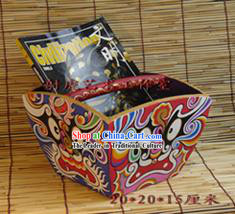 Chinese Hand Painted Mask Cabinet_Box 1