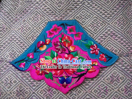 Chinese Stunning Miao Tribe Hand Embroidery Collectible-Bellyband for Woman