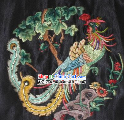 Chinese Hand Embroidered Handicraft-Phoenix
