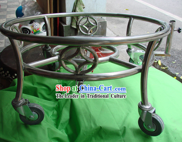 Chinese Dragon Dance and Lion Dance Drum Stand / Drum Cart / Druming Cart