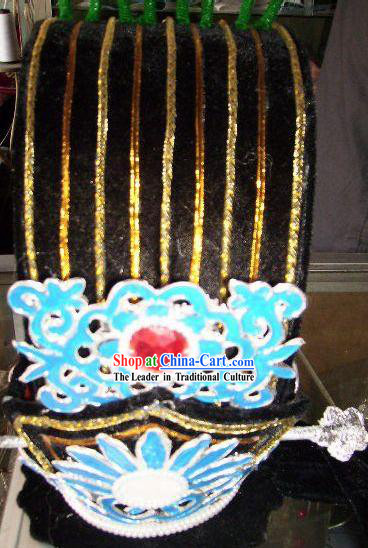 Chinese Classical Zhu Ge Liang (Kong Ming) Hat of Three Kingdoms