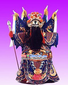Chinese Classic Original Hand Puppet Handicraft-Liu Bang