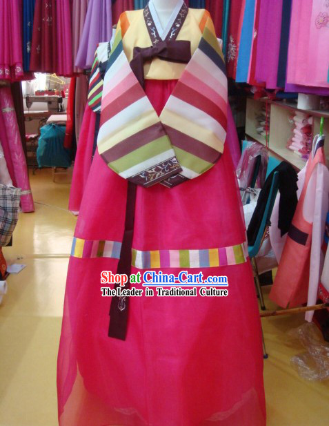 Korean 100% Handmade Korean Hanbok for Couple-Winter Lovers
