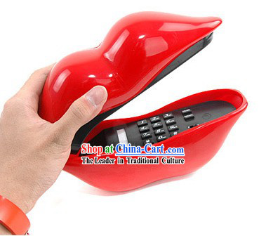 Sexy Red Lips Phone - Christmas and New Year Gift