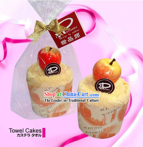 Towel Cake - Christmas and New Year Gift