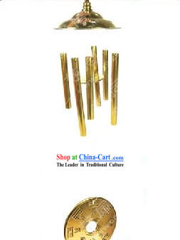 Chinese Classic Kai Guang Brass Windbell (avoid evil and keep you safe)