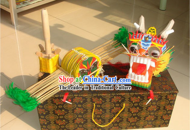 472 Inches Hand Made and Painted Traditional Chinese Dragon Kite