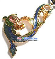 Chinese Traditional Cloisonne Silver Handicraft- Changable Goldfish