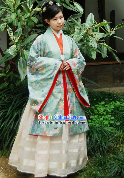 Ancient China Song Dynasty Costume Complete Set
