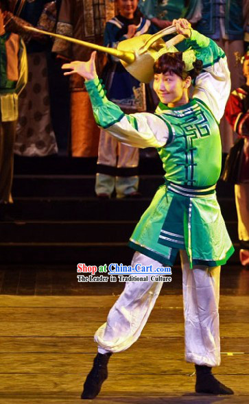 China Traditional Folk Happy New Year Dance Costumes