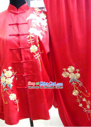 Chinese Professional Tai Chi Performance Uniform for Women