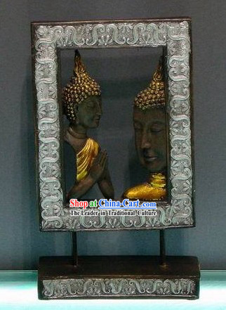 Southeast Asia Thai Arts Figure of Buddha