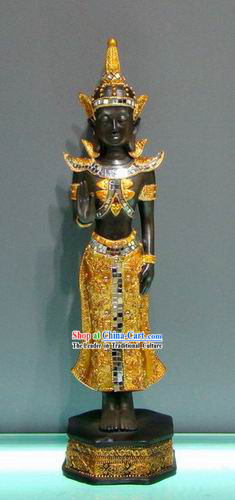 Large Southeast Asia Thai Ornamental Buddha Statue