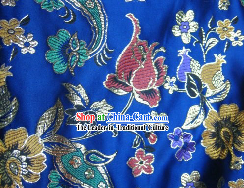 China Silk Fabric with Various Flower