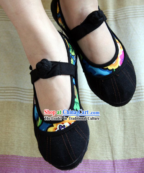 Chinese Cotton Shoes _ Handicraft Shoes