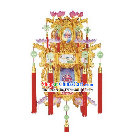 30 Inches New Year Chinese Palace Flower Lantern