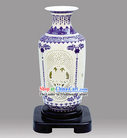 Chinese Ceramic Reading Room Lantern