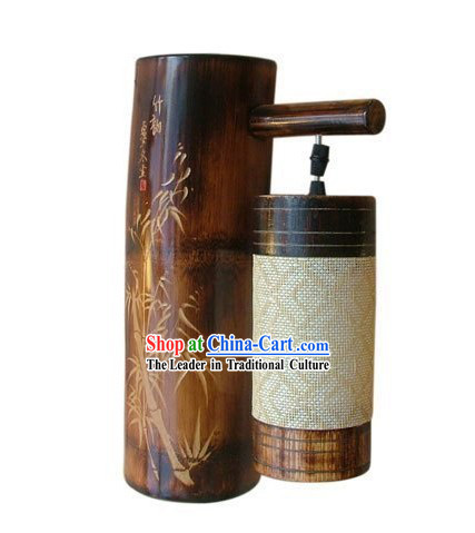 Chinese Traditional Bamboo Wall Lantern