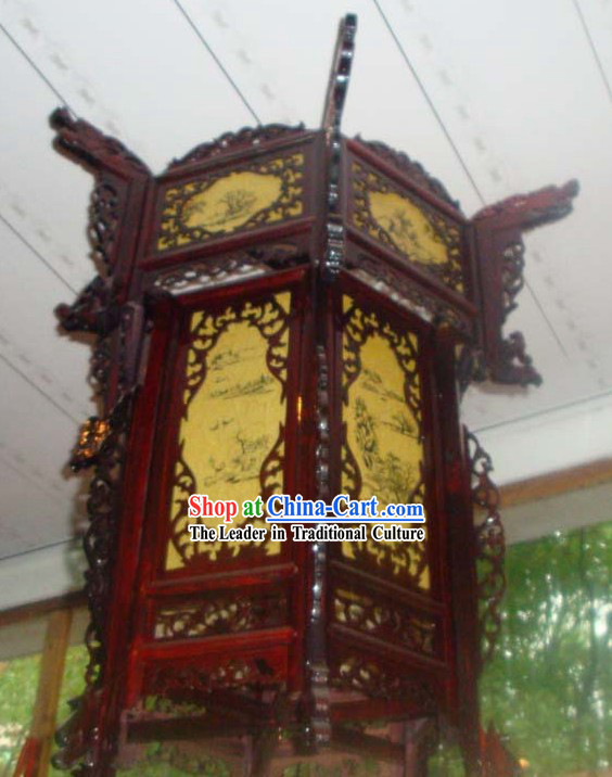 Chinese Traditional Landscape Palace Lantern