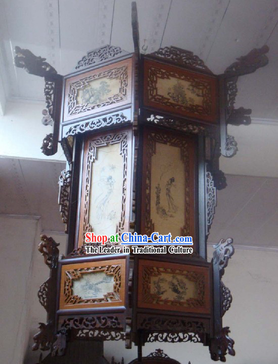 Large Chinese Three Layers Antique Style Palace Lanterns