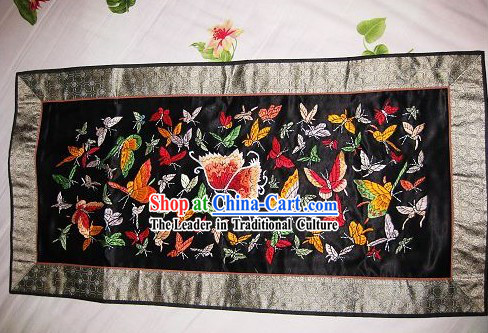 Chinese Traditional Embroidery Handicraft - One Hundred of Butterflies