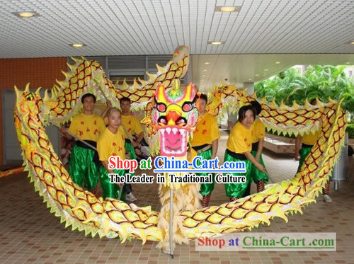 Luminous Happy Festival Celebration Dragon Dance Costume Complete Set