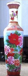 110 Inch Height Large Inflatable Chinese Vase