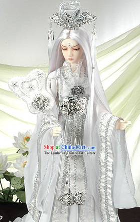 Ancient Chinese Wedding Bridegroom Cosplay Costume Complete Set