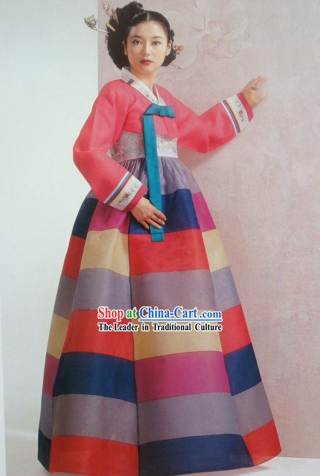 Traditional Korean Clothing Complete Set for Women