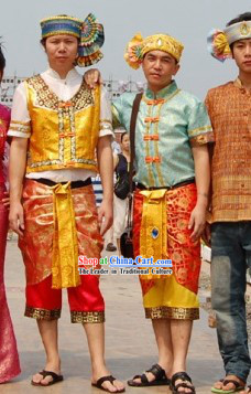 Thailand National Costume Complete Set for Men