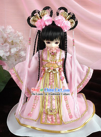 Chinese Classical Peace Princess Costumes Complete Set