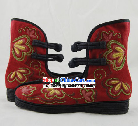 Chinese Folk Han Dynasty Shoes