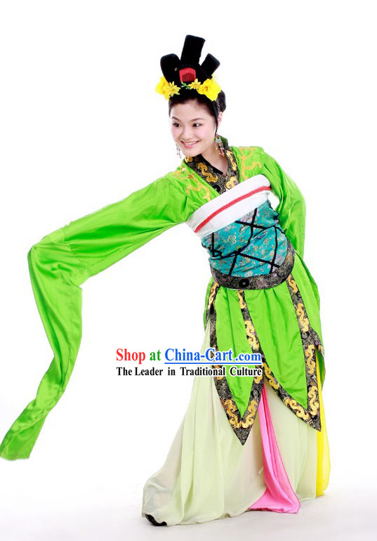Ancient Water Sleeve Palace Dance Ta Ge Costume Spring Outing Dance Costumes