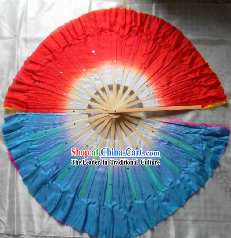 Chinese Double Sides Silk Fan