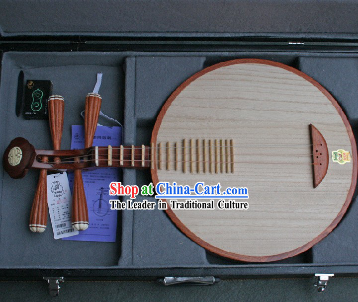 Traditional Chinese Musical Instrument Yueqin