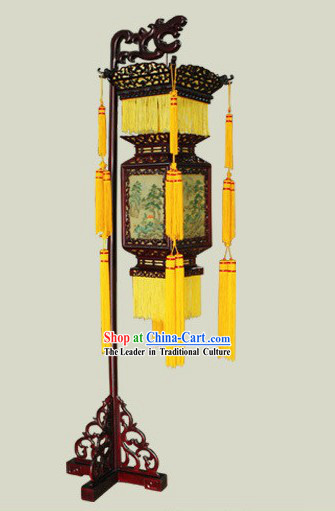 Chinese Ancient Emperor Palace Floor Lantern